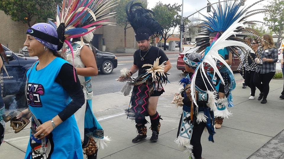 Native Dancers_Walk to Stop the Silence in CA 2016