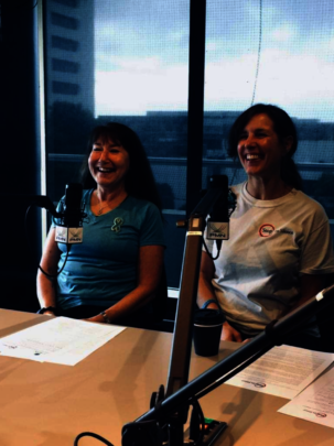 Pam and Joann on Radio 531pi