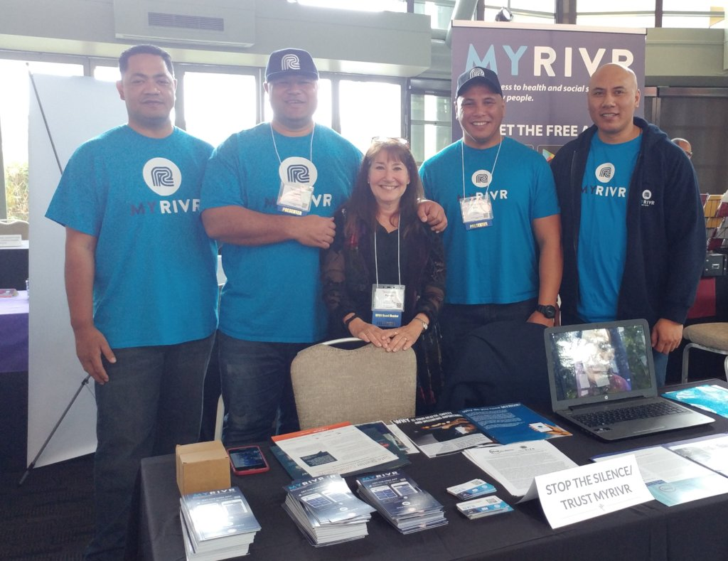 "Pam & Trust MYRIVR ""Rugby Team"" at IVAT Summit"