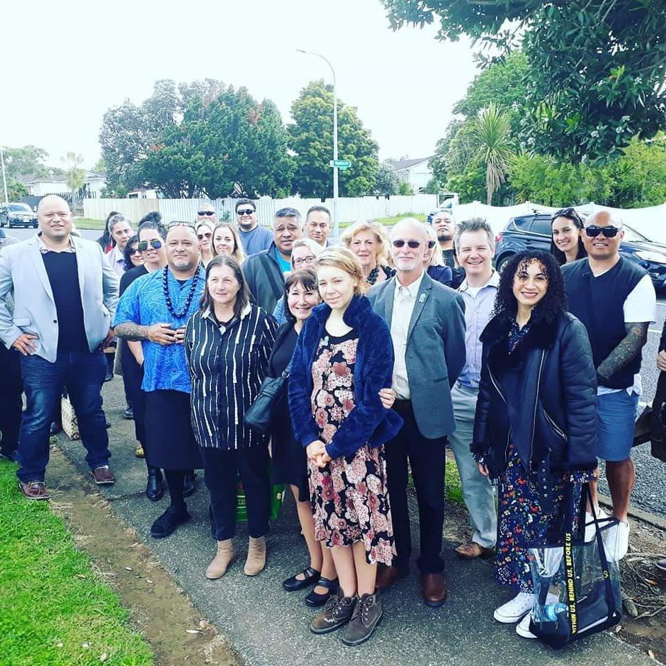 First day NZ training-Outside Marae_Nov. 26, 2018