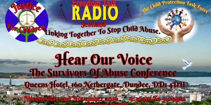 Hear Our Voice Conference, Scotland, Nov. 2_2016
