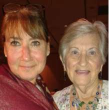 Pam and Rose Schindler at IVAT