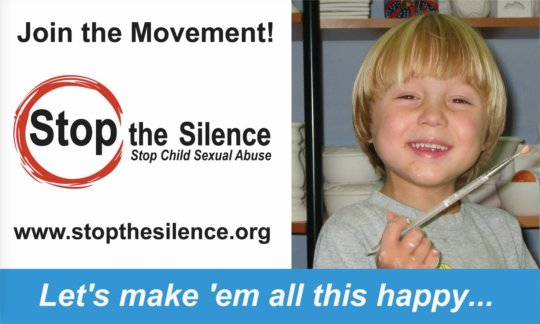 Stop the Silence educating the public!
