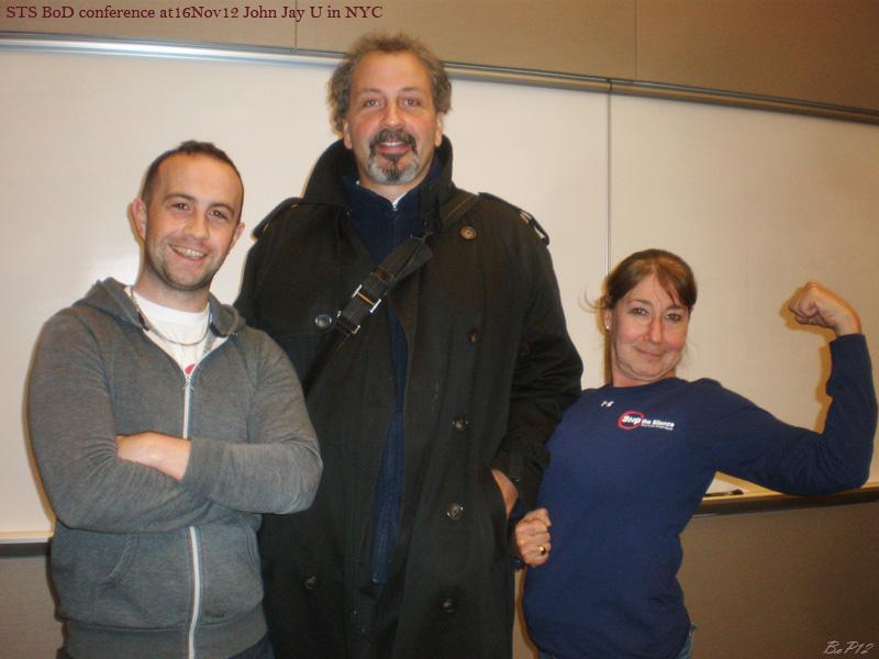 Matthew, Bobby (Anni Dori), Pam at Male Survivor
