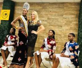 Jill and Miss Africa USA event 2018
