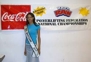 Mrs. MD Galaxy At the RAWLifting Chamionships