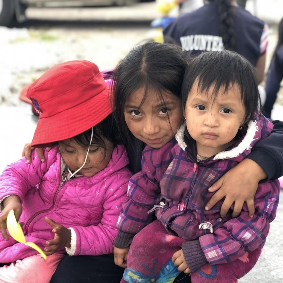 Support during lockdown for children in Ecuador