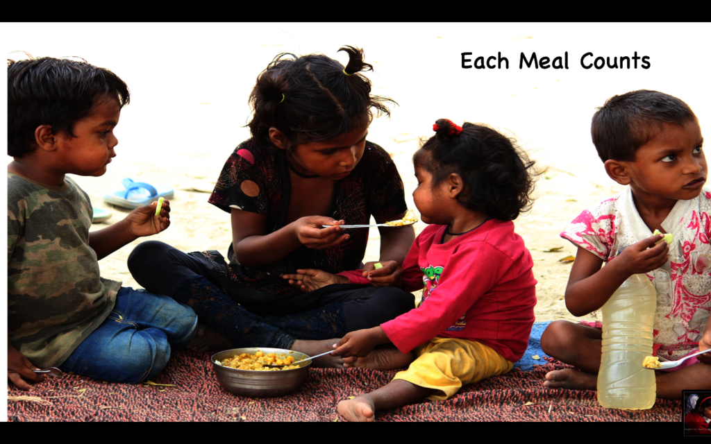Help a hungry child learn, play and stay healthy