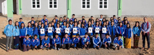 A huge 'thank you' from the EfA students and team