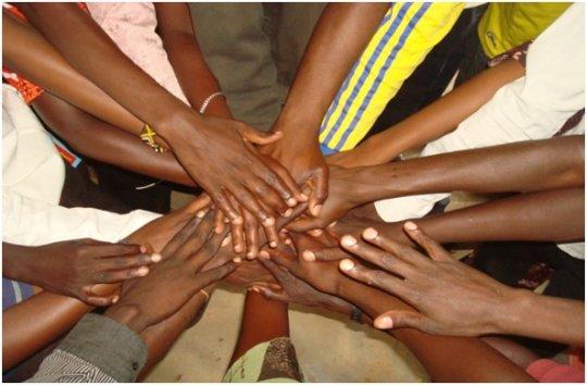 Closing Handshake of Unity