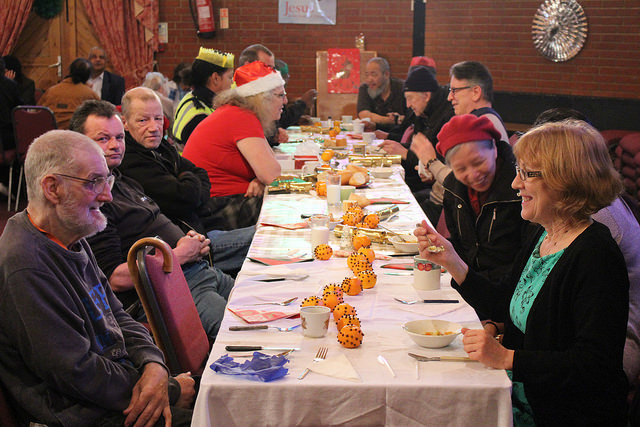 Reduce Loneliness this Christmas for 250 people