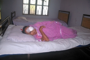 A Patient after Operation