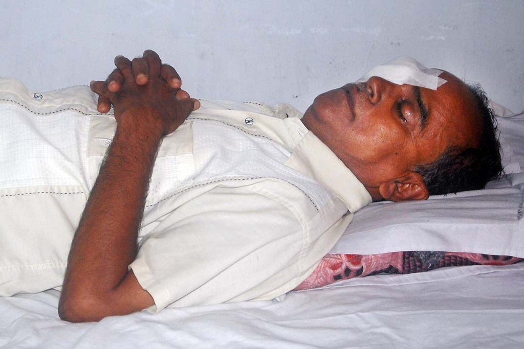 A Patient Recuperating Following Operation