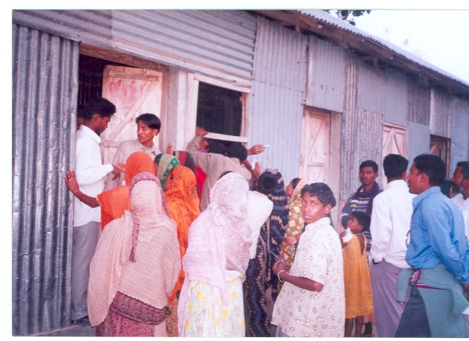 Eye Patients in a Recent Camp