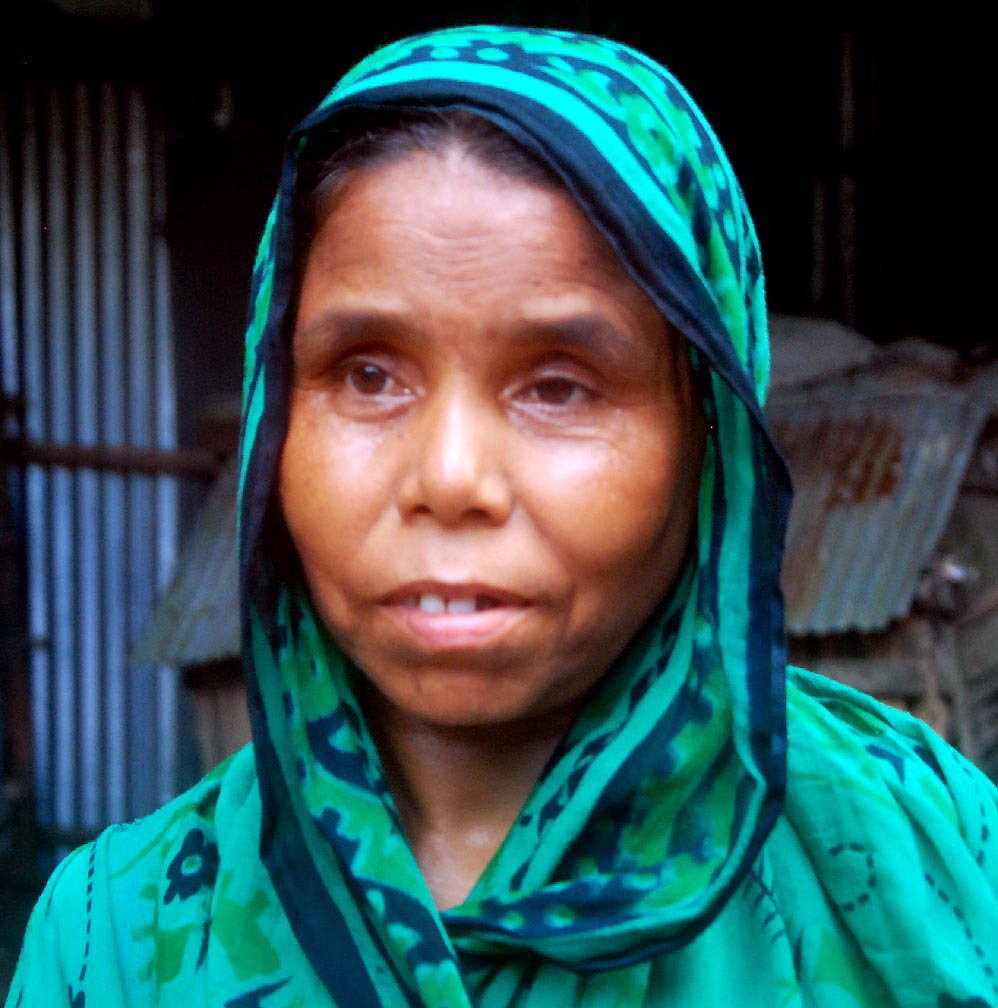 Happy Jamila Begum After Cataract Operation