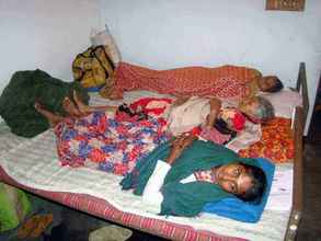 Patients waiting for their turn for operation