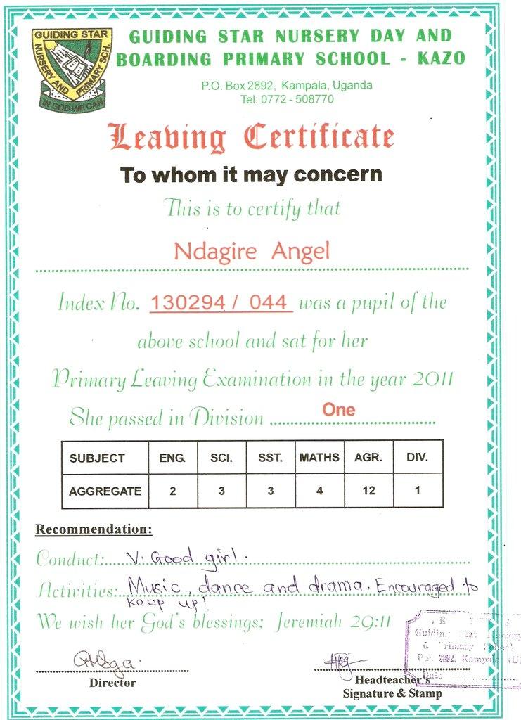 Angel_PLE Certificate