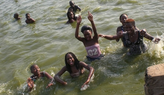 Recreation: at Lake Victoria
