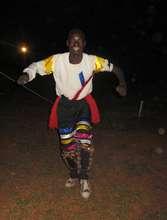 Grant Performing Runyege Dance