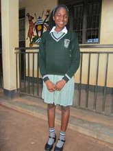 Angel at her school