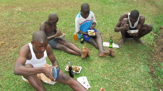 Bitone kids enjoying a party