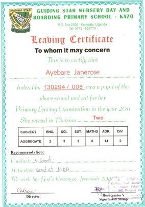 Jane-Rose_PLE Certificate