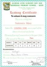 Mary_PLE Certificate