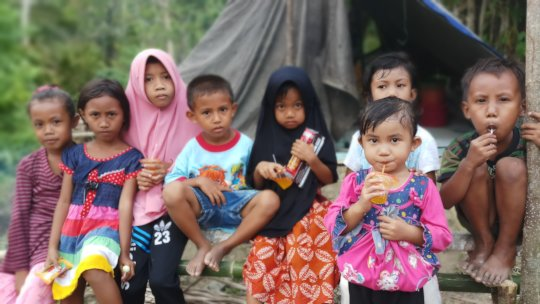 Children of Donggala