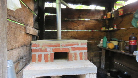 Firewood saving stove