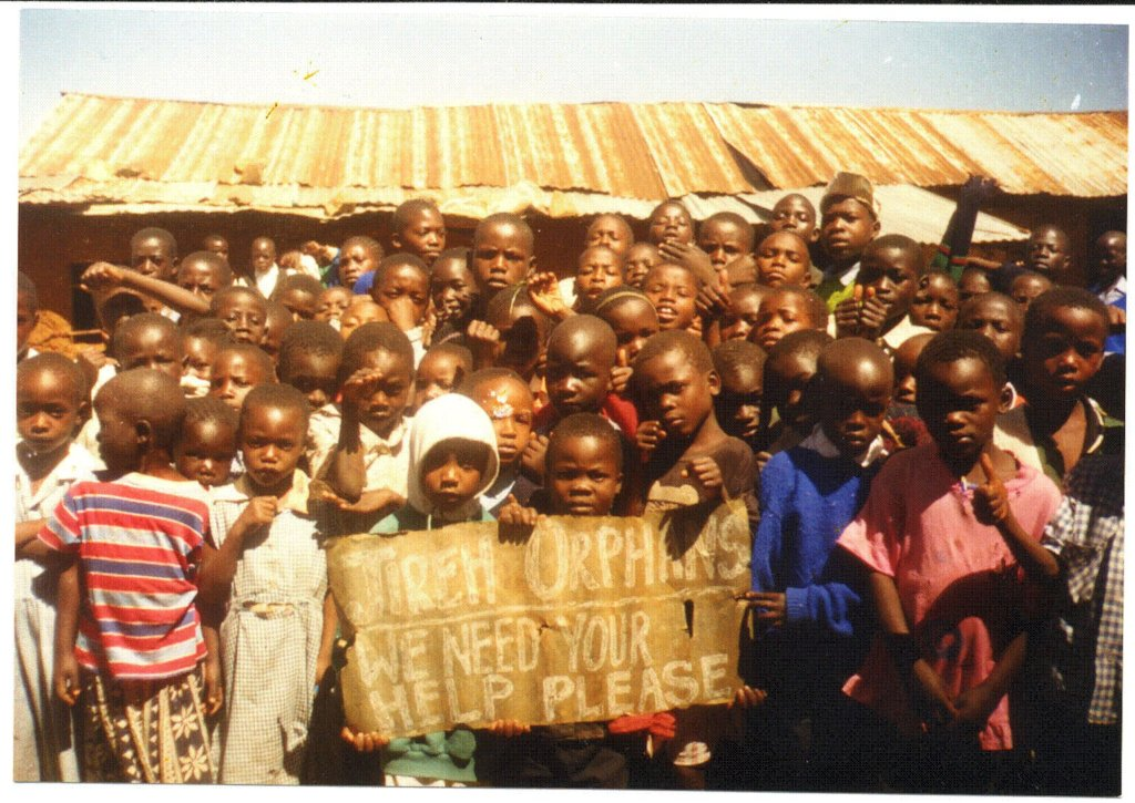 Orphans in dire need in the slums