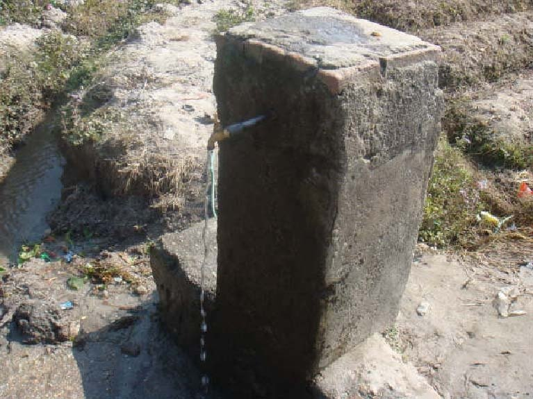 Drinking water for the Kailash Hostel in Nepal