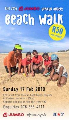 2019 Jumbo African Angels Beach Walk