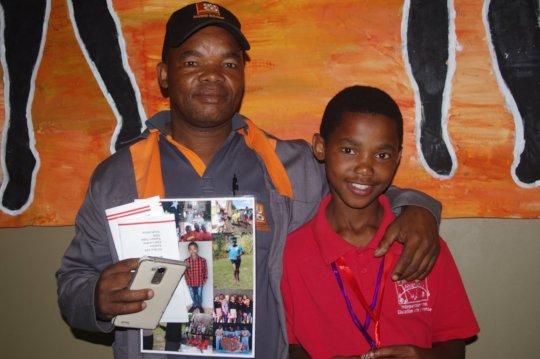 Luvuyo (Selborne College) & father Raymond