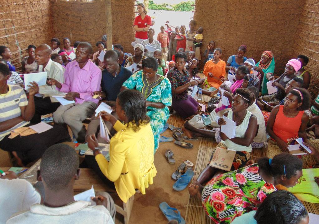 Booster grants to 5 women groups in Uganda
