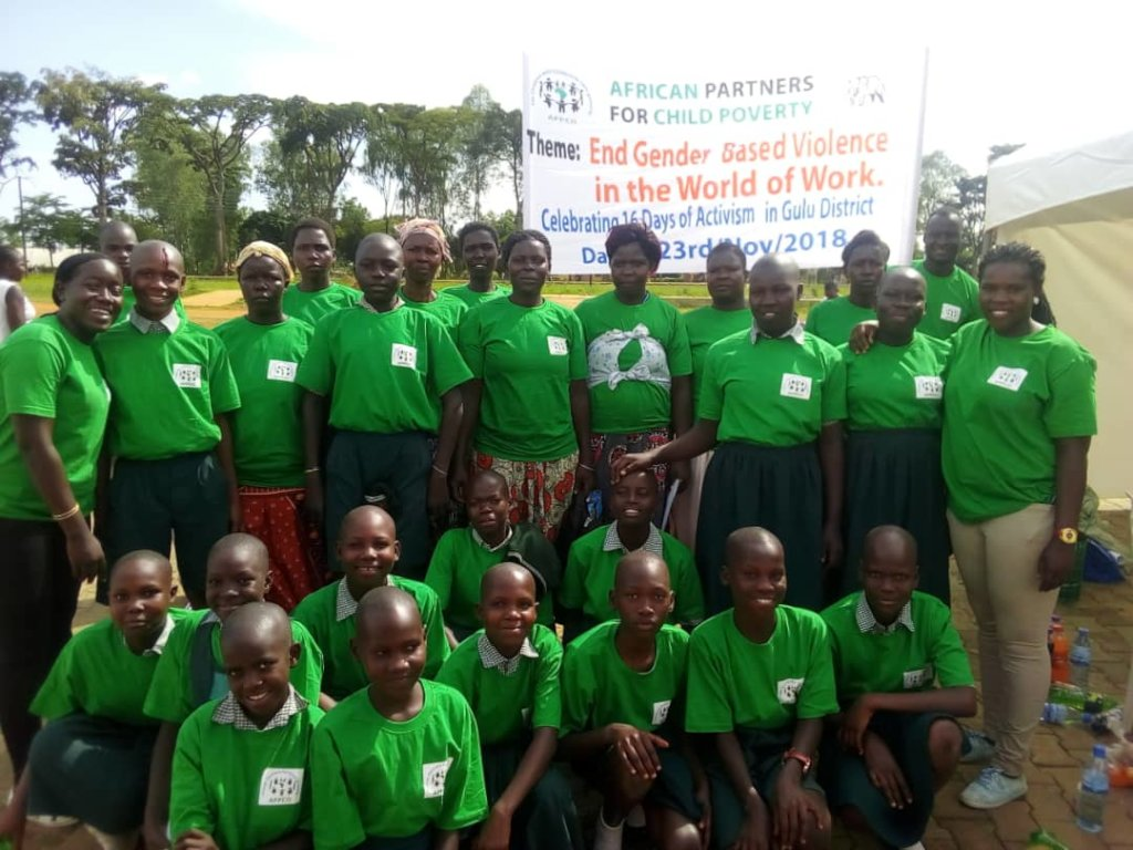 Save Hope of 6,800 Girls drop out of school Uganda