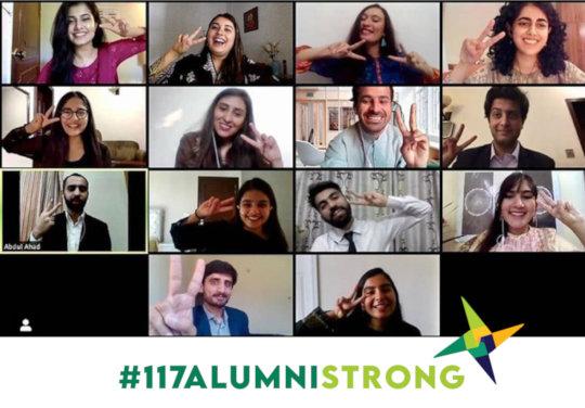 #117AlumniStrong