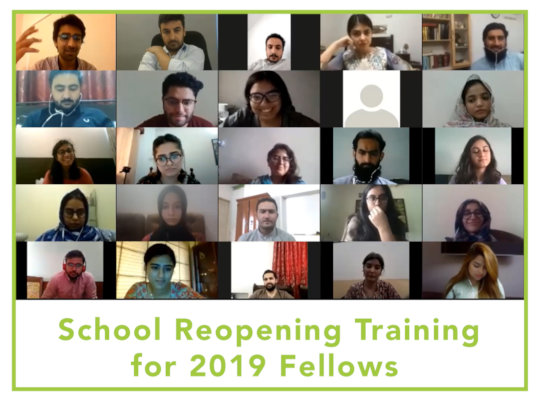 School Reopening Training for 2019 Fellows