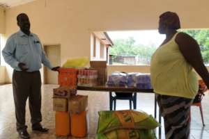 Donation of Food Items