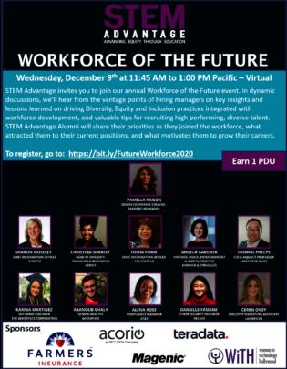 STEM Advantage Workforce of the Future Dec 9, 2020