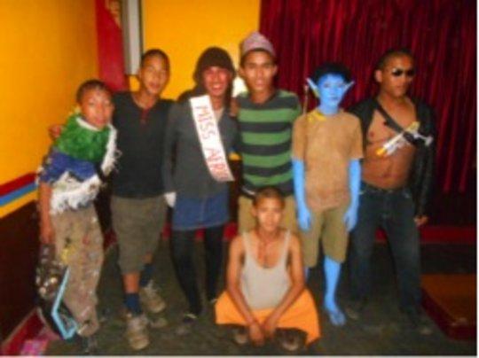 Costume Contest Participants