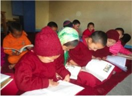 Young Students Reading Storybooks