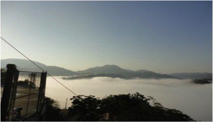 Morning Sunrise at the Monastery