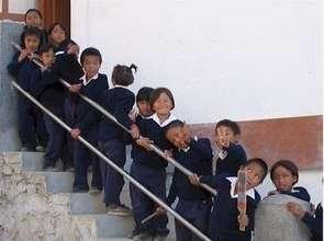 Tibetan Primary School Students