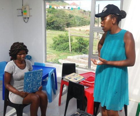 Yanga and Ntombifikile planning and sorting