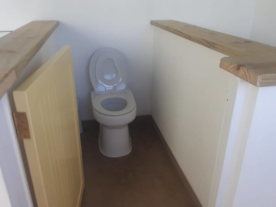 Our lovely EcoDry watersaving toilets