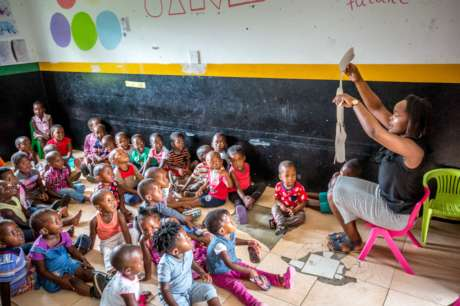 Build a Nursery School in St. Lucia, South Africa