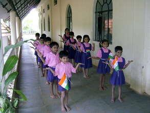 Activities to instill national pride in children