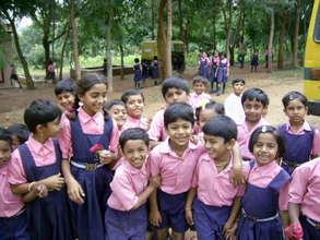 Sponsor children's education in rural India