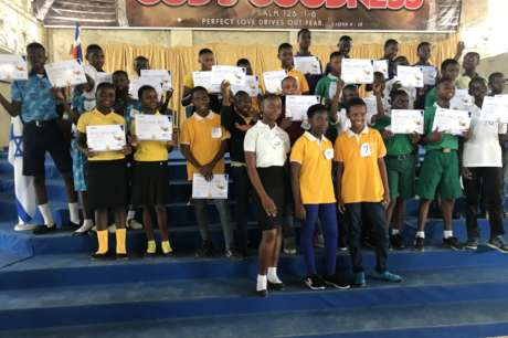 DONATE TO SUPPORT SPELLING BEE COMPETITION, KASOA