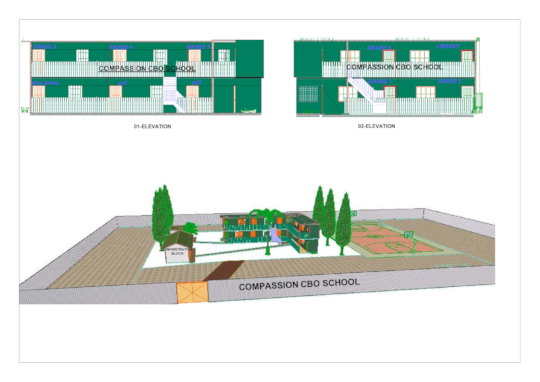 Compassion CBO School Architectural.